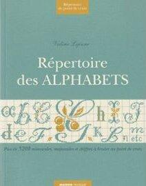 repertoire des alphabets