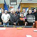 Les élus du conseil municipal de fontanières