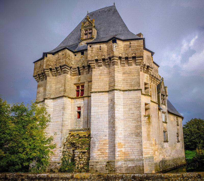 Cherveux, Château des Lusignan (Mélusine, Saint Louis, Prince Noir… (5)