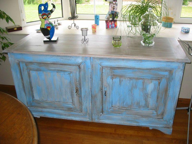 Meuble patine tendance peinture et patine for Patiner meuble ancien