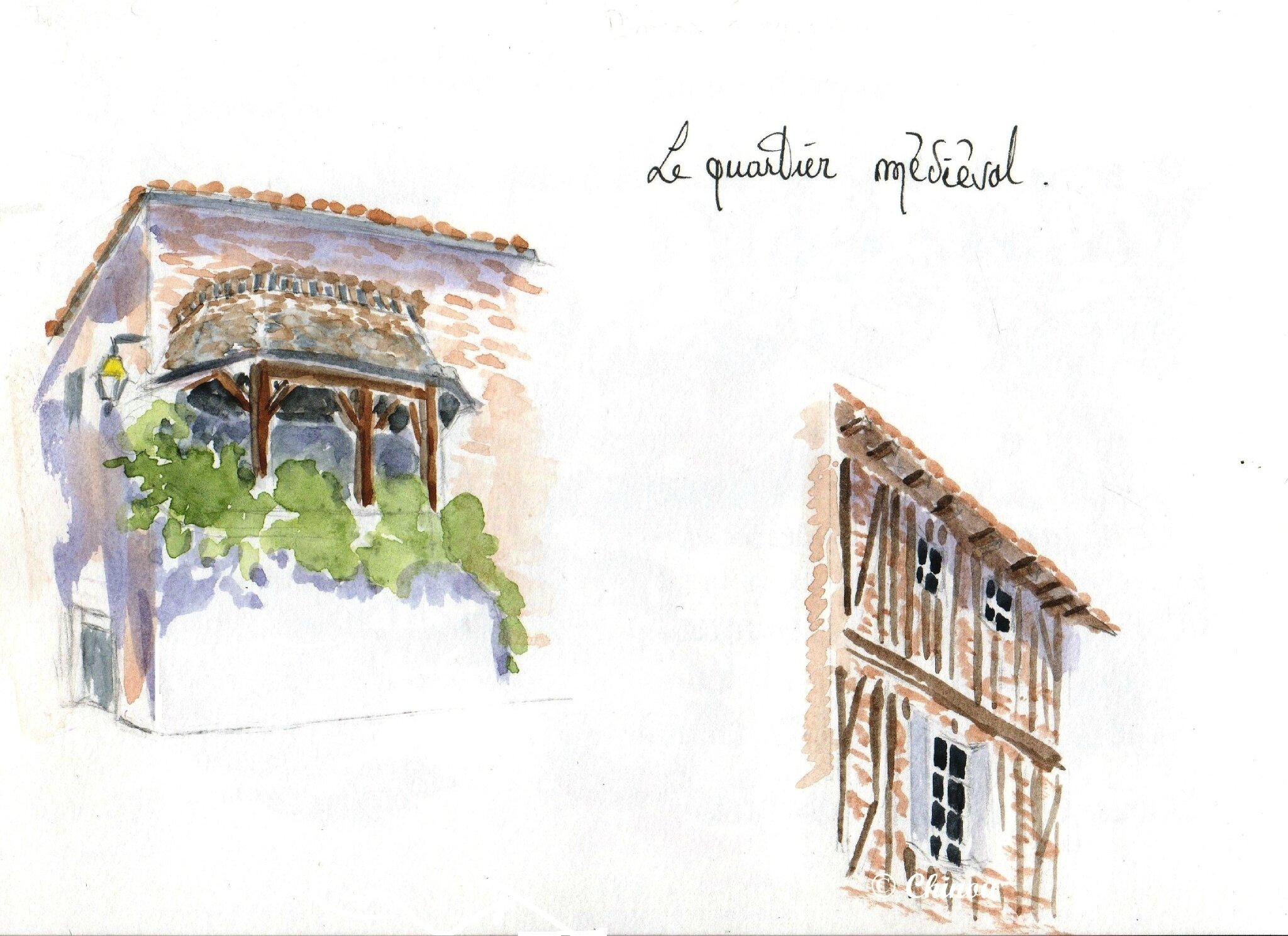 Marmande Quartier Médiéval