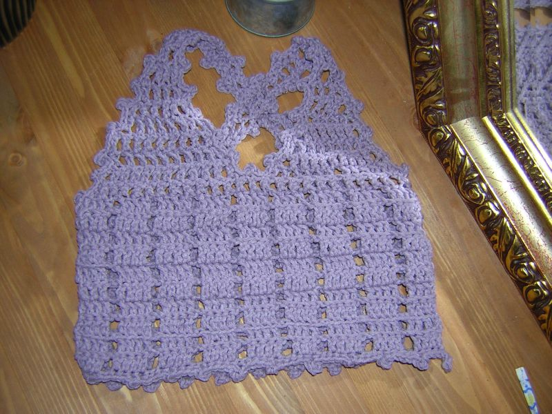 Top Fillette Au Crochet Photo De Les Modèles Que Je