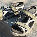 Sandales sans cuir pour l'été