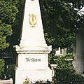 Vienne, cimetière central, Beethoven (Autriche)