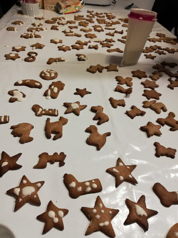 Notre atelier Biscuits de Noël bio en photos