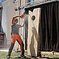 Jacques pissenen en schow a la foire a la frite 2015 ( 28/06/2015 )