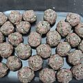 Petites boulettes épicées