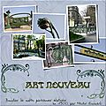 Art nouveau à paris scrap scrapbooking