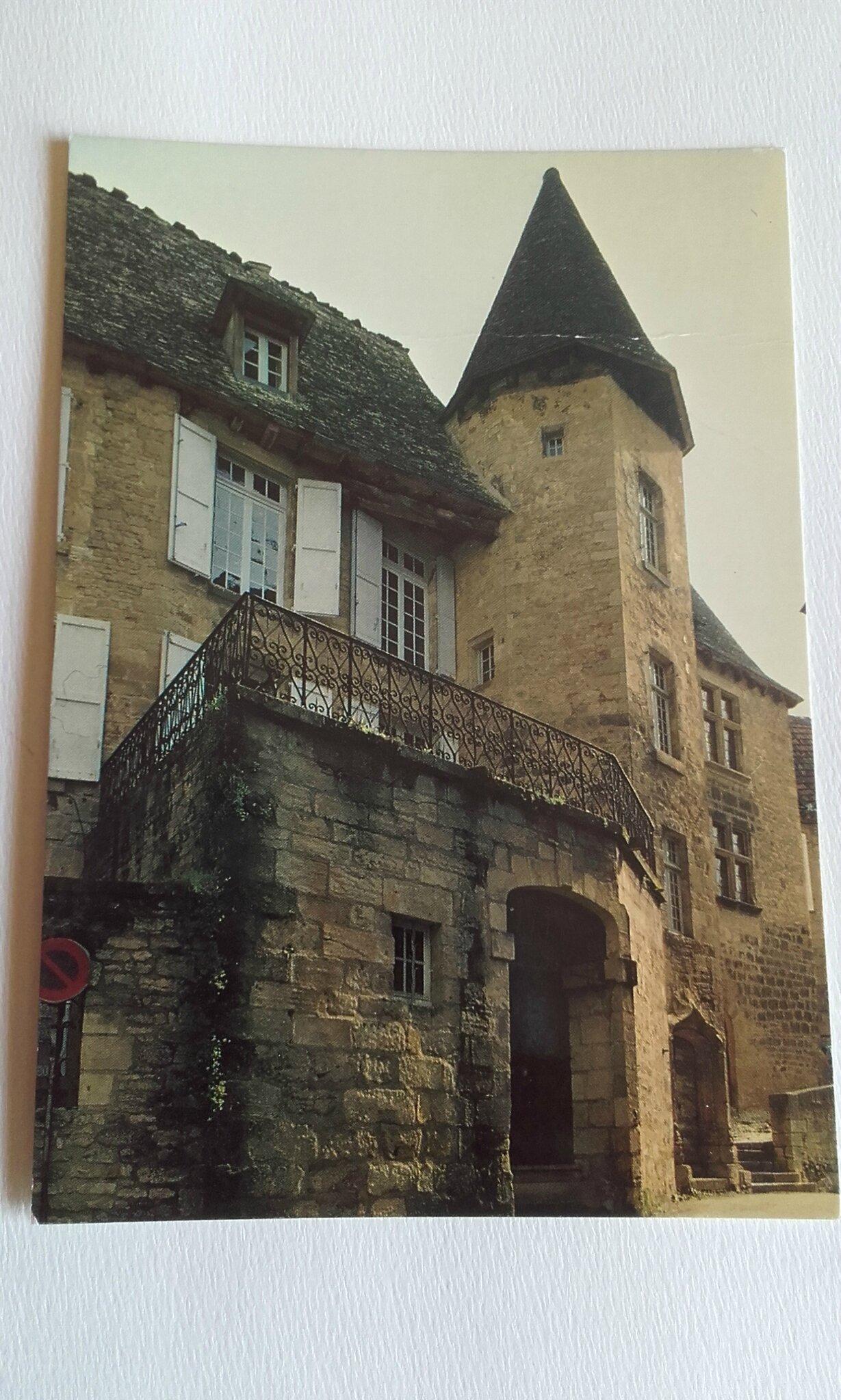 Sarlat hotel de Gisson ou maison Chassaing datée 1985