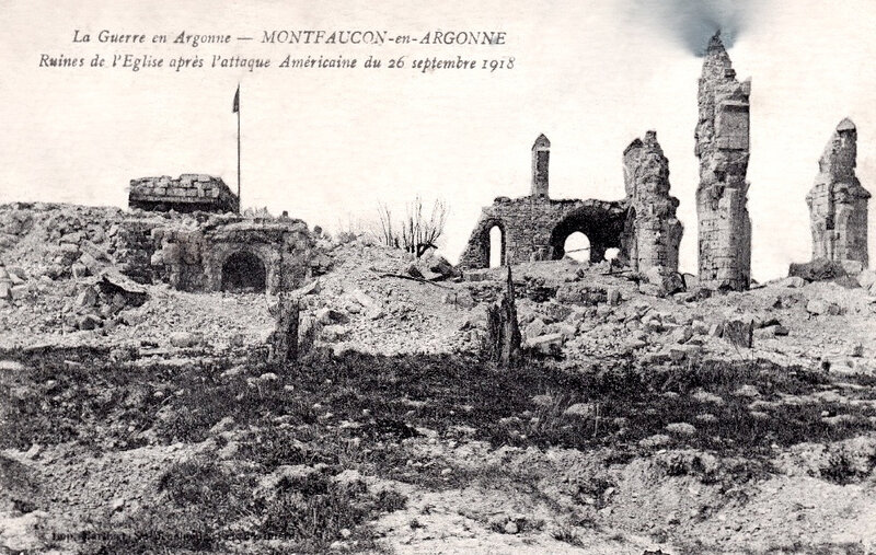 attaque Montfaucon, 26 sept 1918 (2)