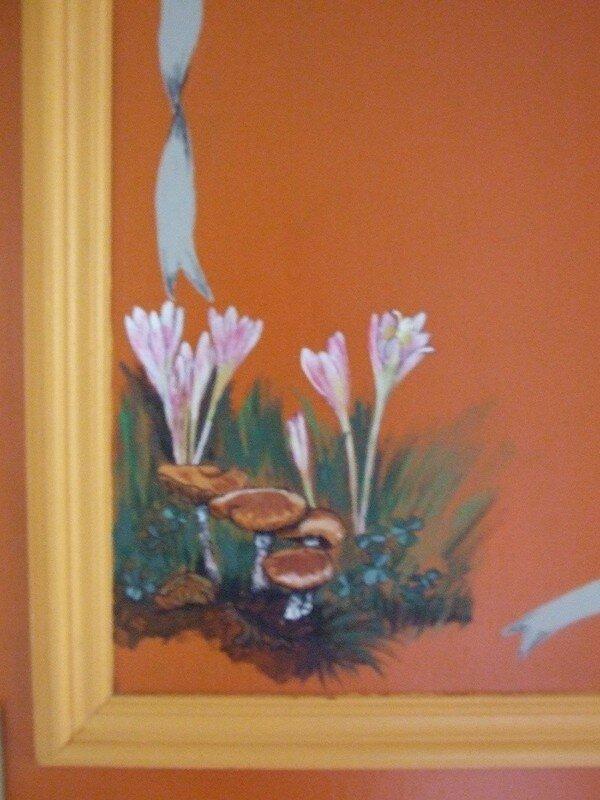 colchiques et champignons