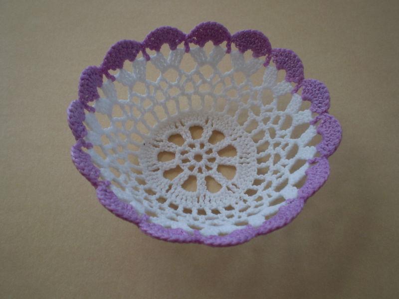 corbeille d coration de table la boutique du crochet de lili. Black Bedroom Furniture Sets. Home Design Ideas