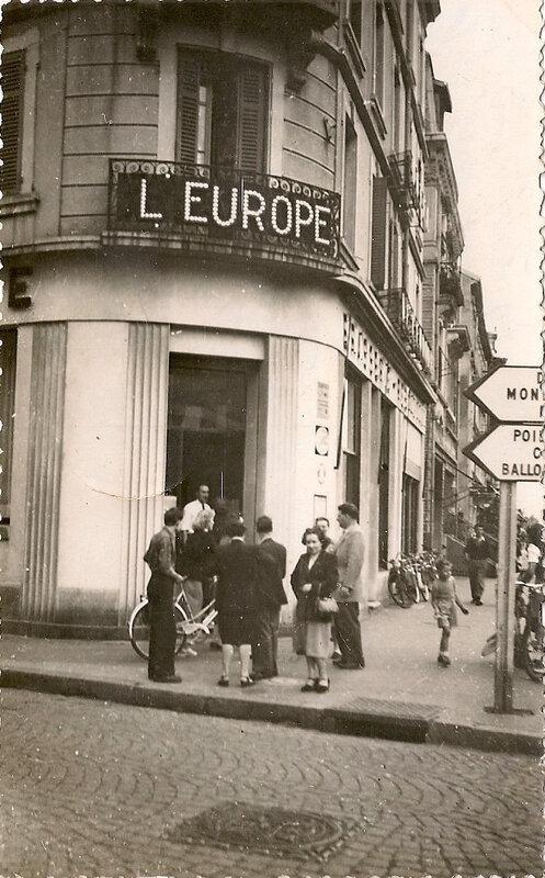 Belfort CPSM Hôtel de l'Europe