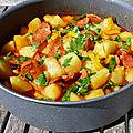Patatas a la riojana façon philandco (pommes de terre à la riojana - espagne)