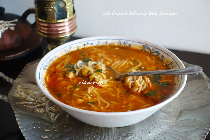 jéri-jerri-jari bel korssa -soupe pâtes fraîches 2