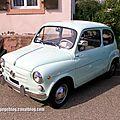 Fiat 600 d (1955-1969)(32ème bourse d'échanges de lipsheim)
