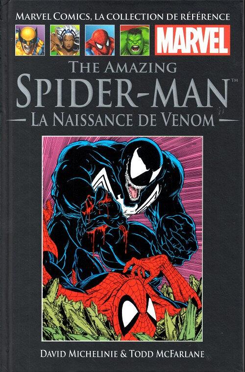 hachette 11 amazing spiderman la naissance de venom