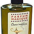 Parfum magique qui attire la chance , amour , et l'argent