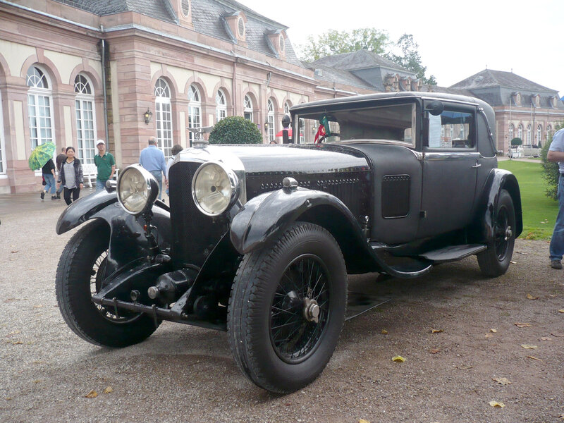 BENTLEY Speed Six coupé H