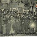 Manifestation des anciens mineurs