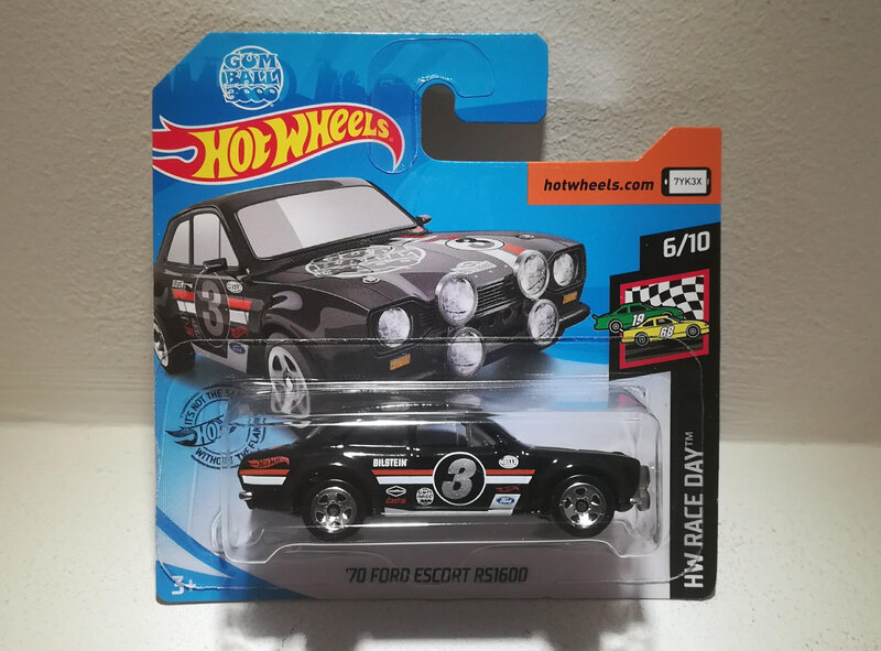 Ford Escort RS1600 de 1970 (Hotwheels) (4)