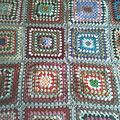Plaid au crochet 2