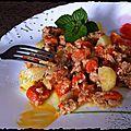 Salade à la mitonnée de carottes et thon