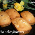 Mini cakes financier aux fruits confits