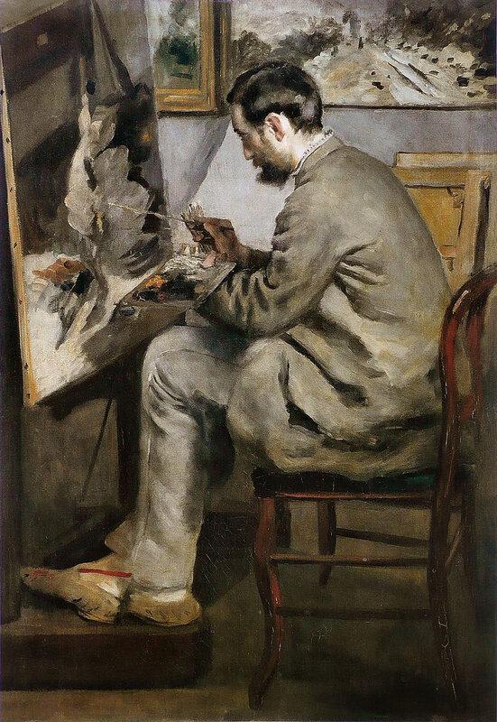 800px-Pierre-Auguste_Renoir_-_Frédéric_Bazille