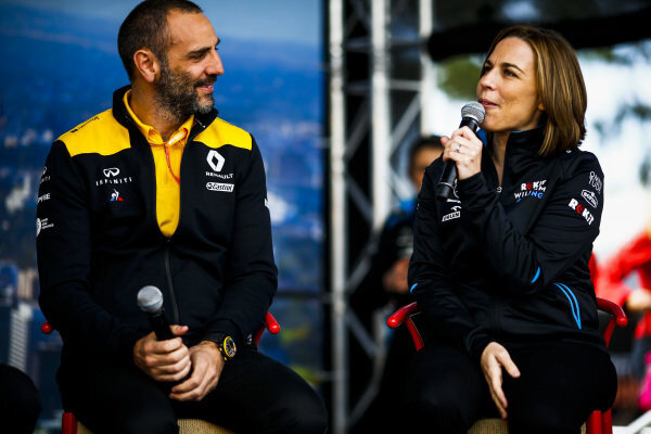 cyril abitboul and claire williams