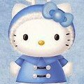 HELLO KITTY EN RENNE DE NOEL