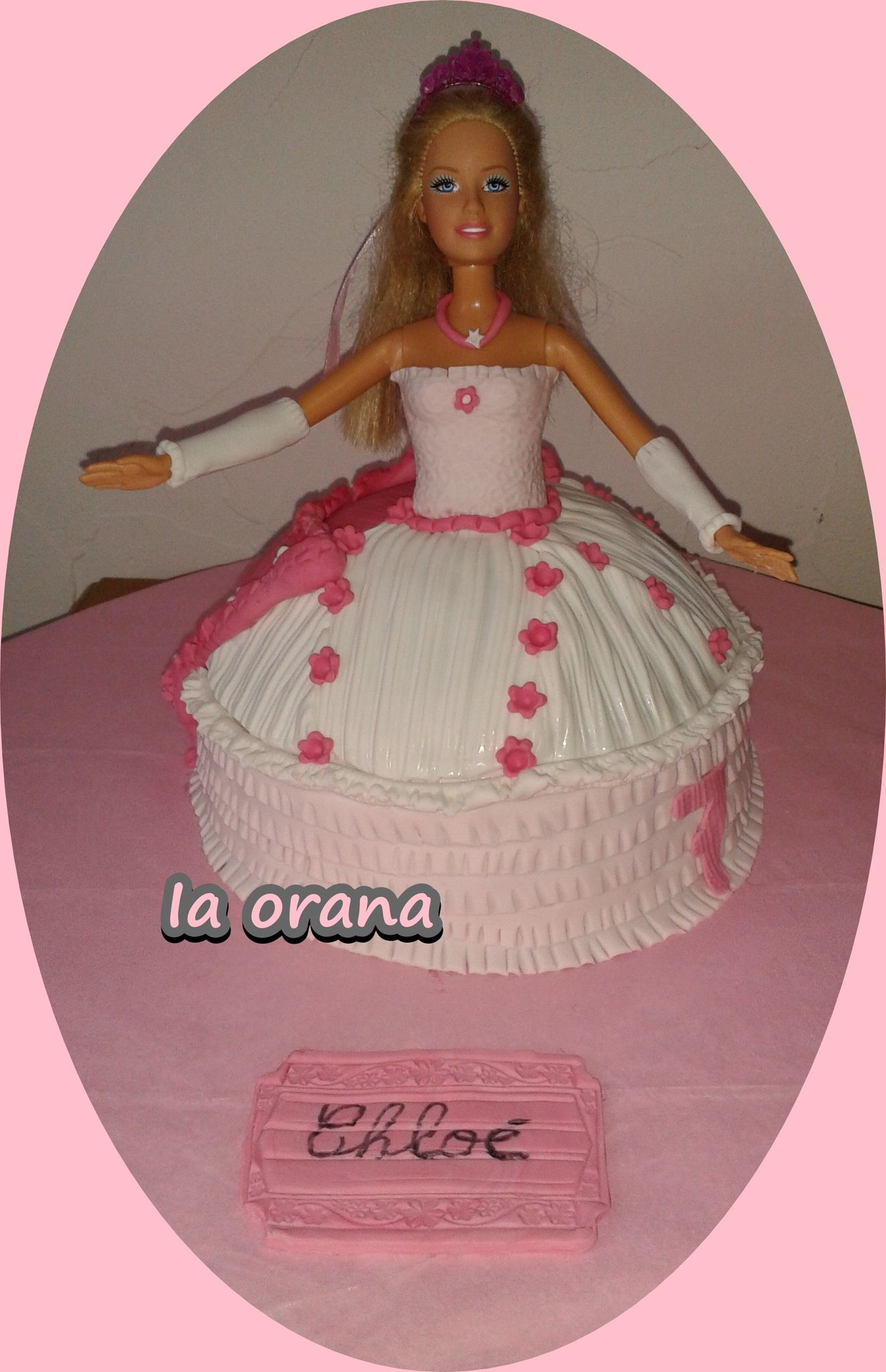 Gâteau Princesse Barbie/Princess Cake