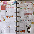 Deco mini happy planneur octobre
