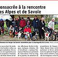Le Dauphiné:la Chapelle Rambaud 2019