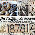Cs&diy#10: theme chiffres et notre invitée lune de papier