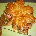 Vol-au-vent d'automne saumon-épinards