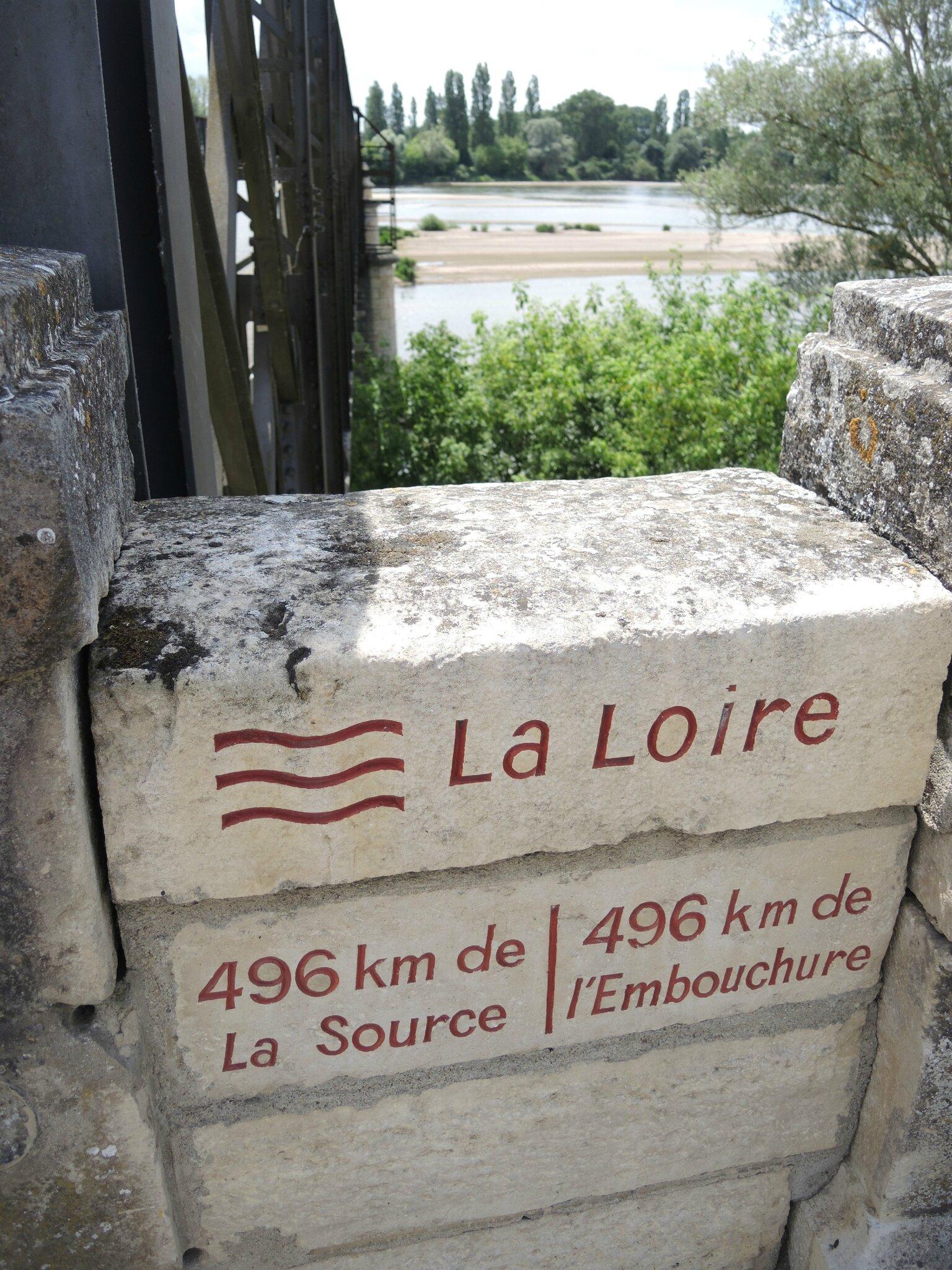 Pouilly-sur-Loire, plaque La Loire