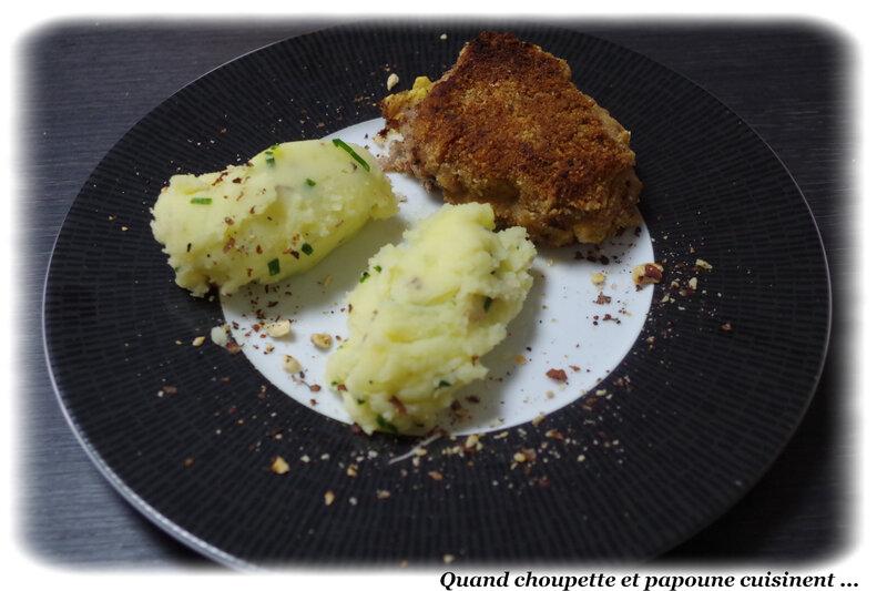 cordon bleu, écrasé de pommes de terre à l'huile d'olive-2775
