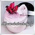 Mousse de douche girly