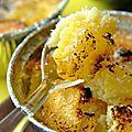 Clafoutis ananas coco