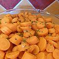 carootes au cumin et à la coriandre