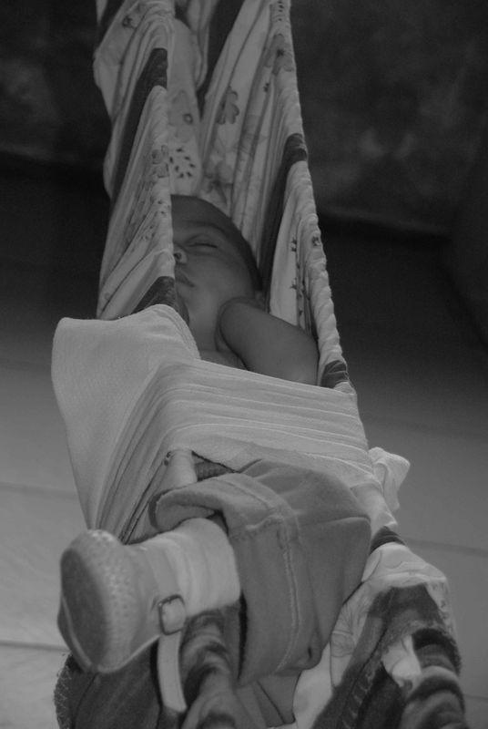 Garderie de Nanegal: la sieste