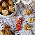 Bouchées au quinoa et chorizo