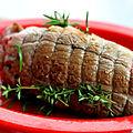 Pour pâques, gigot d'agneau ou rôti de gigot à la lavande {recette}