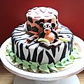 Gâteau sauvage!