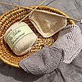 ** lingettes ou lavettes tricotées .. **