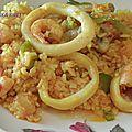 Paella ( aux fruits de mer)