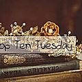 Top ten tuesday ~ 102 : les 10 romans d'halloween préférés (sorcières, glauque, etc...)