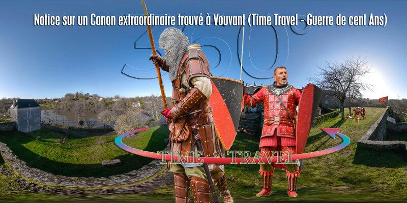 Notice sur un Canon extraordinaire trouvé à Vouvant (Time Travel - Guerre de cent Ans)
