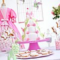 Sweet table de princesse par mademoiselle p
